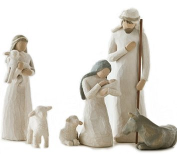 Willow Tree Nativity Set Sculptures