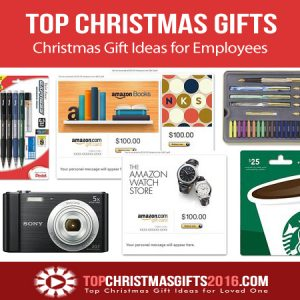 Best Christmas Gift Ideas for Employees 2018