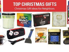 Best Christmas Gift Ideas for Neighbors 2019