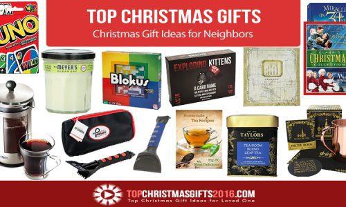 Best Christmas Gift Ideas for Neighbors 2017