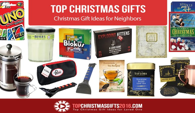 best christmas gift ideas for neighbors 2017