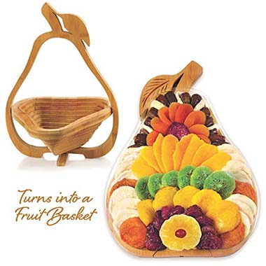 Gourmand Gifts Large Premium Dried Fruit Gift Basket