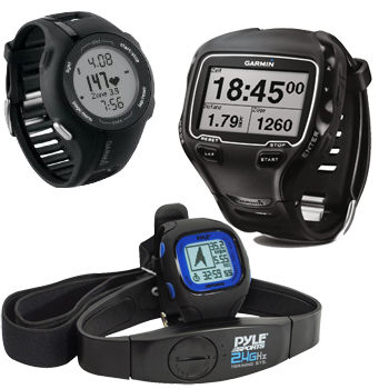 Sports watches and heart monitors