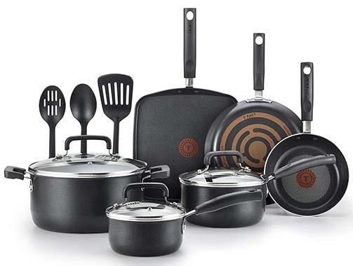 T-fal Cookware Set - 12 Piece