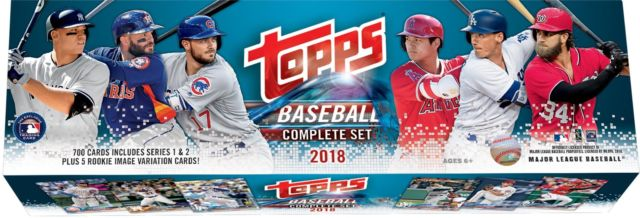 Topps 2018 Baseball Retail Edition Complete 705 Card Factory Set