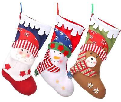 3 PCS Christmas Stockings