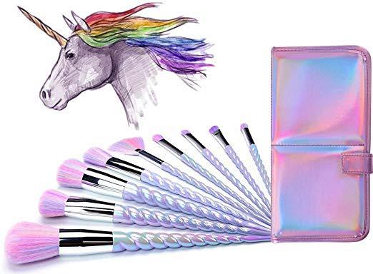 Ammiy Unicorn Makeup Brushes
