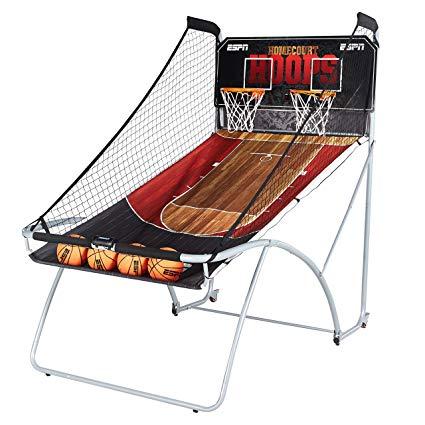 ESPN 2 Player EZ-Fold Arcade Basketball Game with LED Scoring