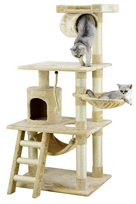 Go Pet Club Cat Tree Furniture 62 in