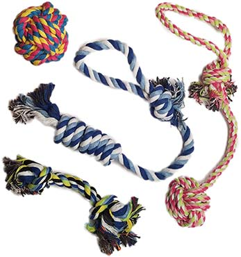 Otterly Pets Puppy Dog Pet Rope Toys