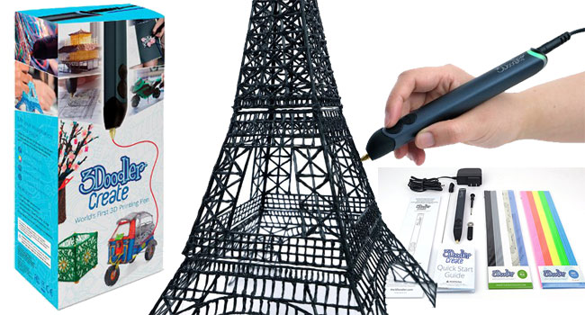 3Doodler Create 3D Pen with 50 Plastic material Strands