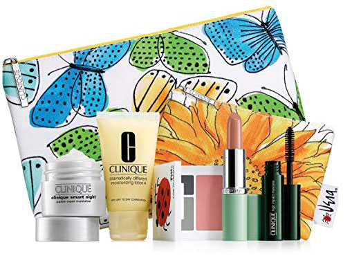 Clinique 7-Piece Makeup Skincare Gift Set