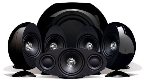 KEF KHT3005BL (SE) 5.1 Home Theater Speaker System