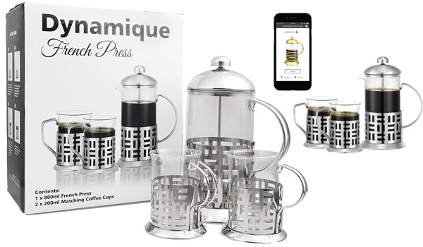 Premium French Press Coffee and Tea Maker