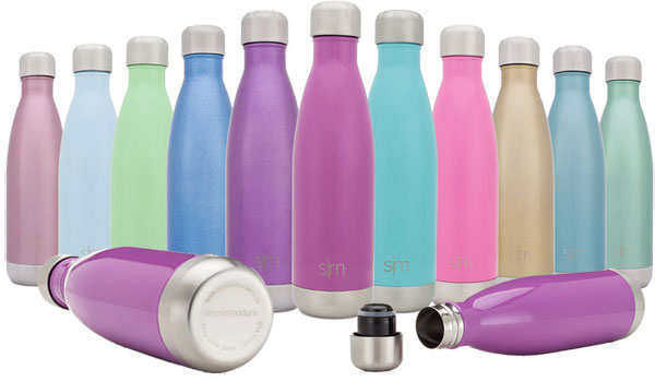 Simple Modern Vacuum Insulated Stainless Steel Wave Bottle