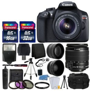 Canon EOS Rebel T6 Digital SLR Camera