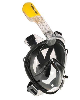TOMSHOO Snorkel Mask with Action Camera mount