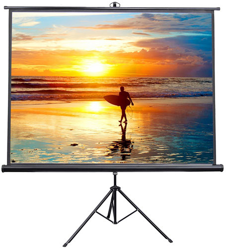 "VIVO 100"" Portable Indoor Outdoor Projector Screen"