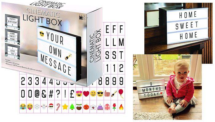 A4 Cinema Light Box Sign