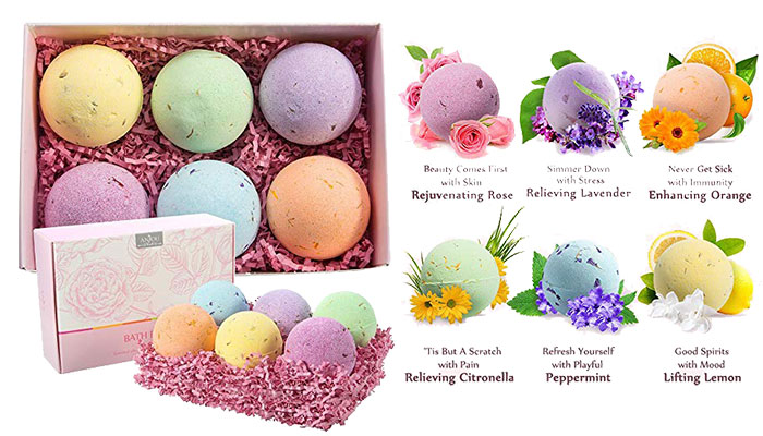 Anjou Bath Bombs Gift Set
