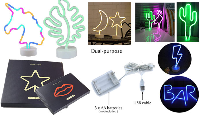DELICORE LED Neon Signs