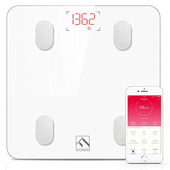 FITINDEX Body Fat Smart Scale