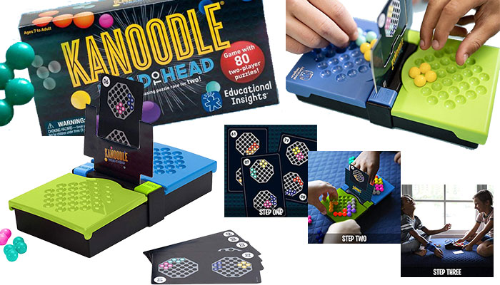 Kanoodle Head-to-Head Brain Game