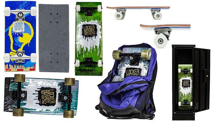 Locker Board Skateboards and Cruisers