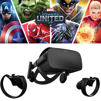 Oculus Marvel Powers United VR Special Edition
