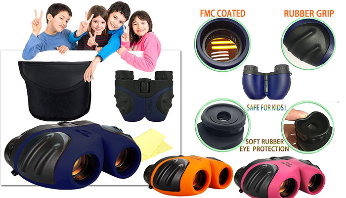 TOP Gift Compact Shock Proof Binoculars