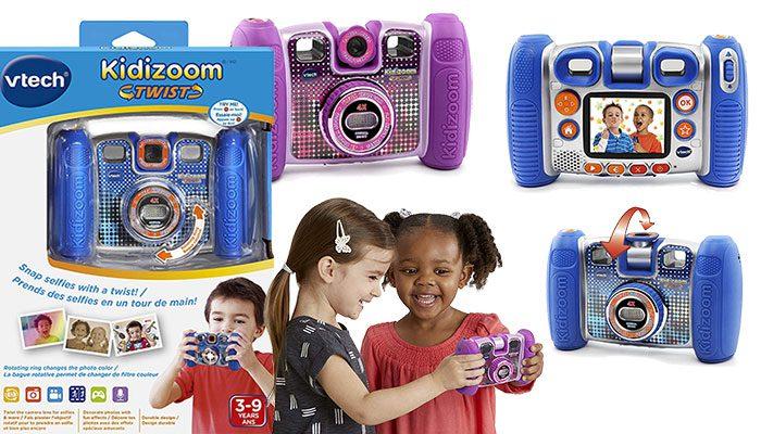 VTech Kidizoom Twist Connect Camera - Purple & Blue