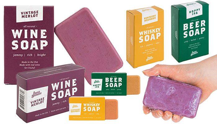 Vintage Merlot WINE SOAP