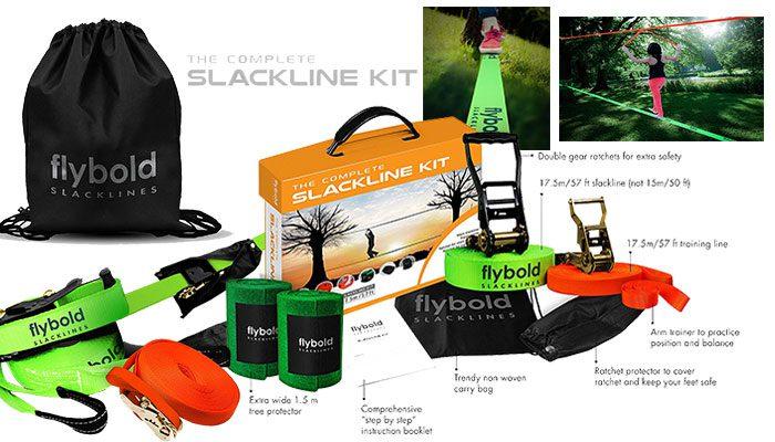 flybold Slackline Kit