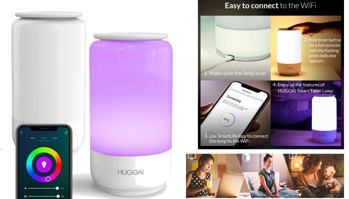 Hugoai Smart Led Table Lamp Review