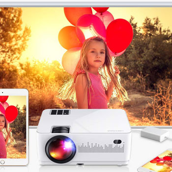 DBPOWER L21 LCD Video Projector