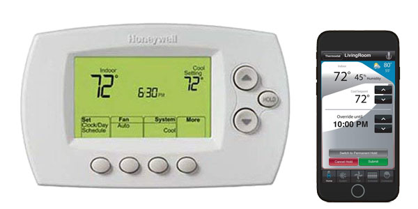 Honeywell Wi-Fi enabled Thermostat