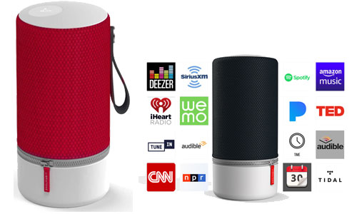 Libratone Zipp 2 Portable Smart Speaker with Amazon Alexa