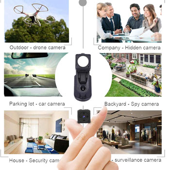 MHDYT Mini Spy Camera Wireless Hidden