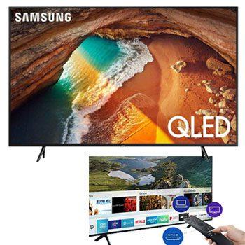 Samsung QN55Q60RAFXZA Flat 55-inch QLED 4K Smart TV