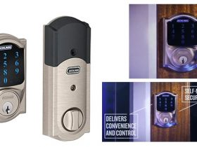 Schlage Z-wave Connect Camelot Touchscreen Deadbolt Review